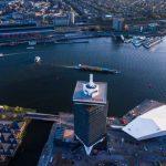 El mirador A'DAM Lookout, Ámsterdam en 360 grados