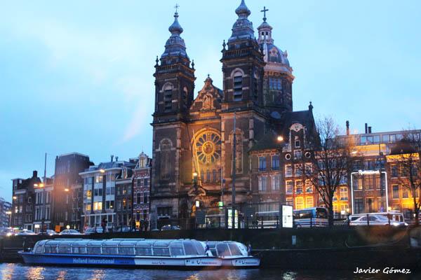 Basílica de San Nicolás y crucero