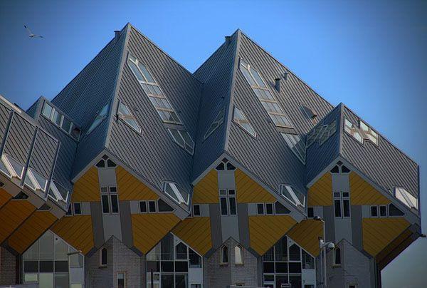 Casas cubicas de Rotterdam