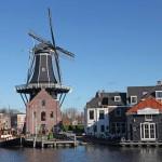 El Molino Adriaan, símbolo de la ciudad de Haarlem