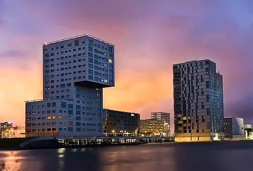 Edificios en Almere