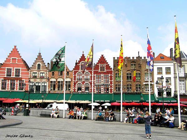 Gran Plaza en Brujas