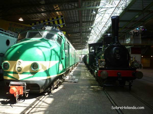 Museo del tren de Utrecht