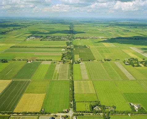 Noord Holland - paisaje del norte de Holanda