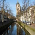 El Oude Delft, el canal más antiguo de la ciudad