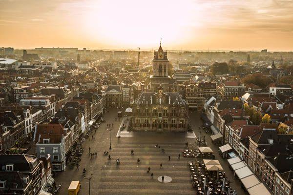 Plaza Markt en Delft
