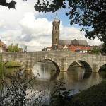 Roermond, a orillas del Mosa en Limburgo