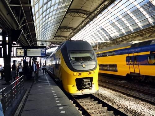 Trenes en Holanda