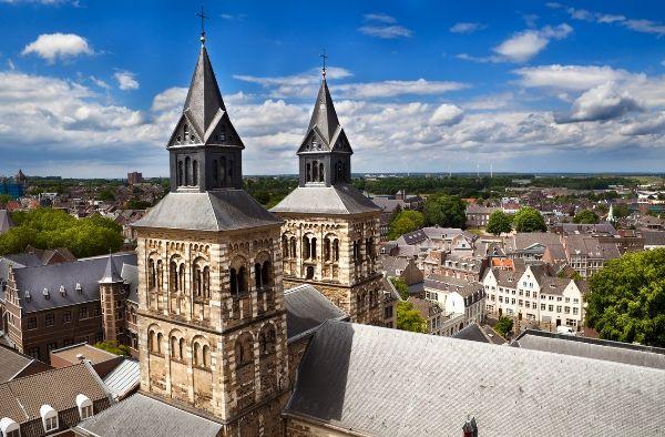 Vista aerea de Maastricht