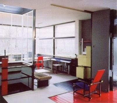 Casa Schroder interior