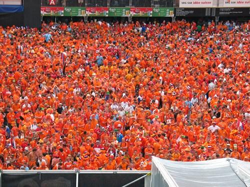 Color naranja de Holanda