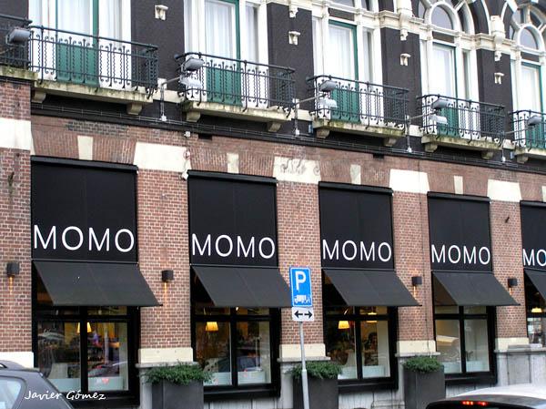 aRestaurante Momo en Amsterdam