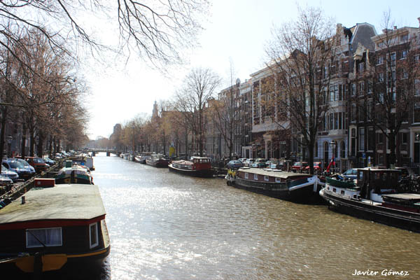 Amsterdam 4 - canal Prinsengracht