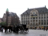 Frente al Museo Madame Tussaud de Amsterdam