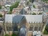 Vista de Catedral y ciudad desde la Torre Dom