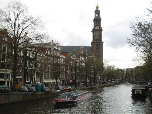 Visitar la iglesia Westerkerk, de estilo renacentista holandés