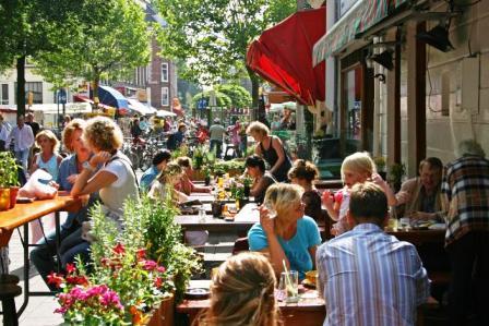 De Pijp, barrio latino, Amsterdam