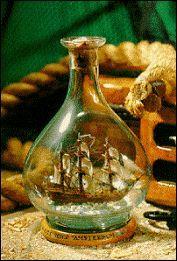 Barco en botella, museo de enkhuizen