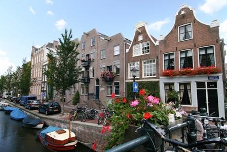 Jordaan, canal, Ámsterdam