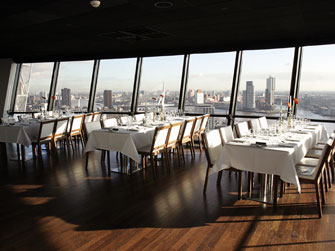 Restaurante Euromast, Rotterdam