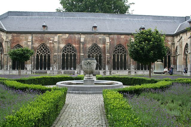 jardin Pandhof Utrecht, catedral