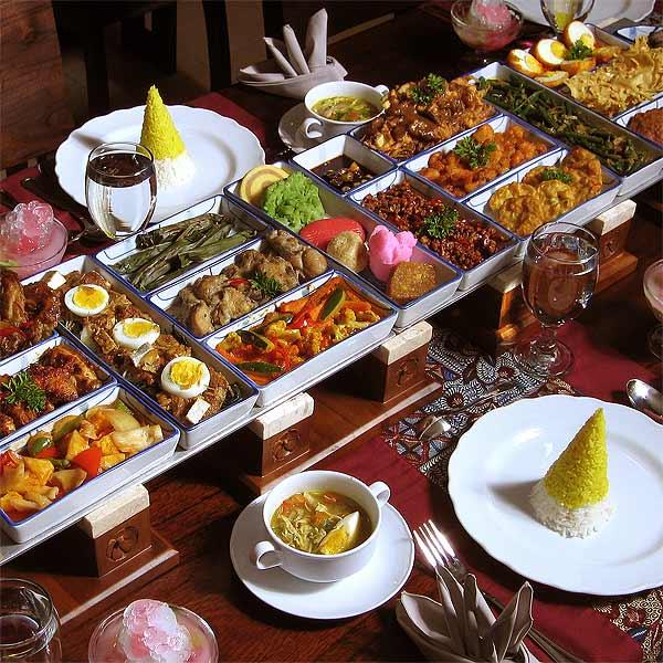 Rijsttafel, gastronomia holandesa