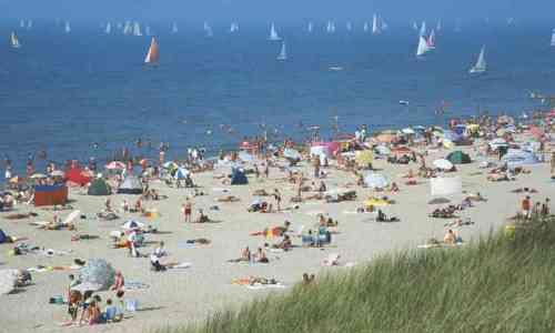 Playas de Noordwijk aan zee
