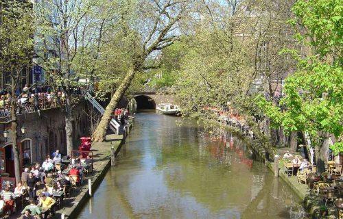 Oudegracht, canal de Utrecht