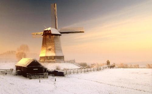 Holanda en invierno