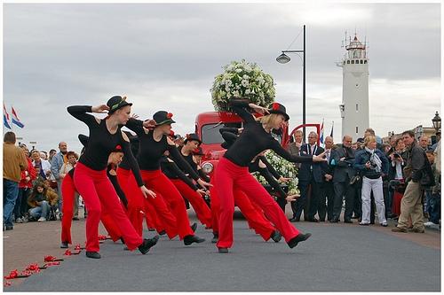 Desfile de flores de Bollenstreek, primero de año