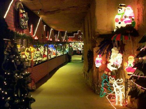 Mercadillos navideños… bajo tierra