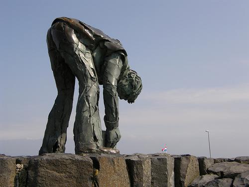 estatua en el Gran Dique