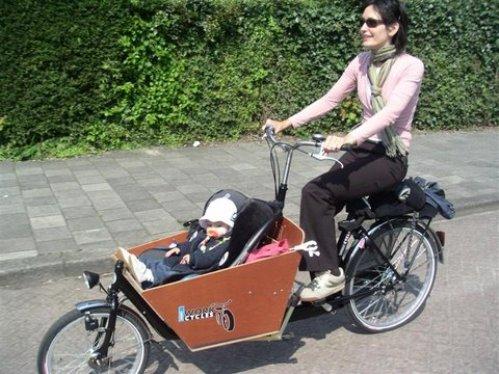 Bakfiets, curiosos vehículos de Holanda