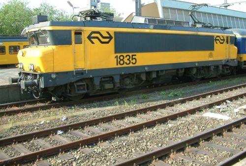 En tren por Holanda