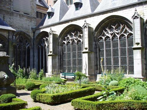 Jardin de la Abadia de Middelburg
