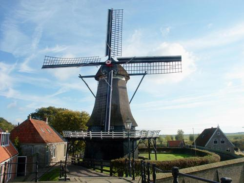 Sloten windmill, molino de Amsterdam.