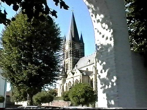 Thorn y la antigua abadía benedictina