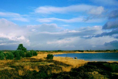 El lago Drostenveen, en el Parque Nacional Dwingelderveld