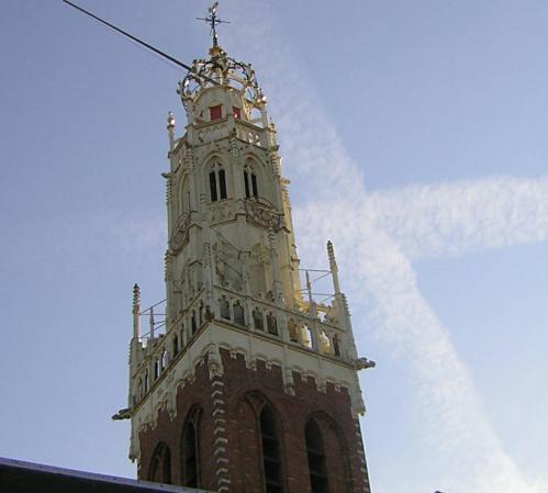 La iglesia Bakenesser, en Haarlem