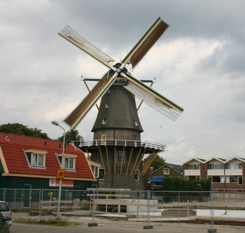 El molino De Leeuw, Aalsmeer