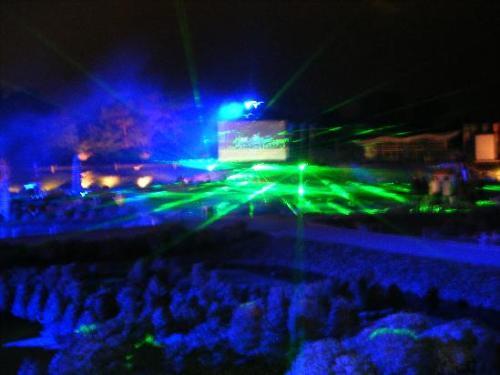 Madurodam iluminada, espectaculo de luces