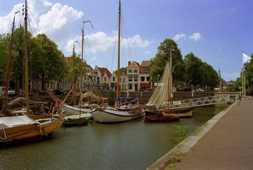 El antiguo muelle de Oudehaven, Rotterdam