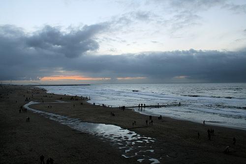 Pasar el verano en las playas de Holanda