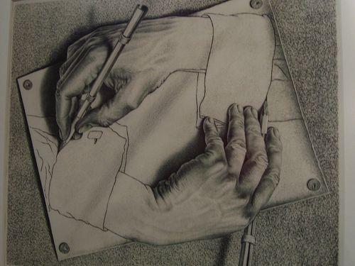 A Escher se le visita en Palacio