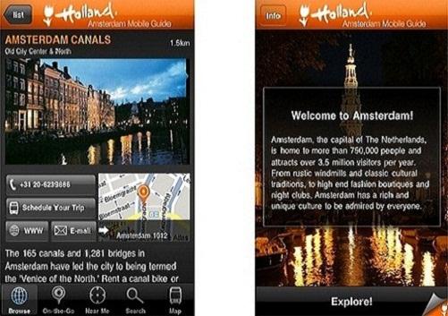 Nueva aplicación para el móvil de Ámsterdam