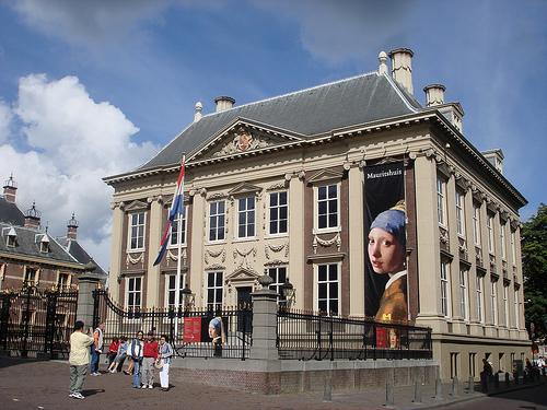 Dalí encuentra a Vermeer, en la Mauritshuis