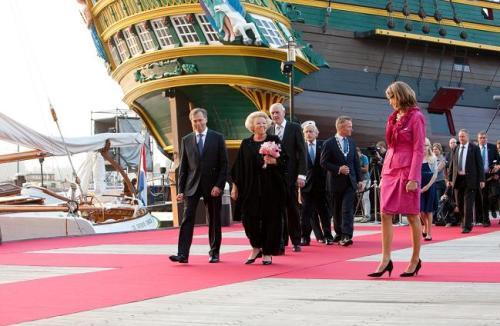 Inauguracion del Museo Maritimo de Amsterdam