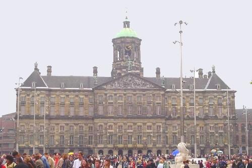 Acércate a conocer el Palacio Real de Ámsterdam