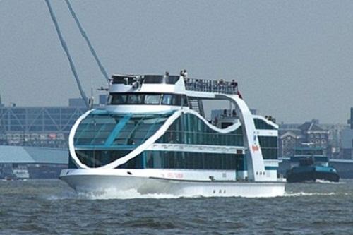 Spido Harbour Tour, un paseo por el puerto de Rotterdam