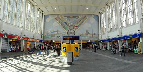 Estación Amstel de Amsterdam